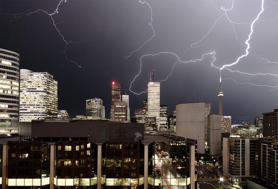 Lightning, by Sam Javanrouh