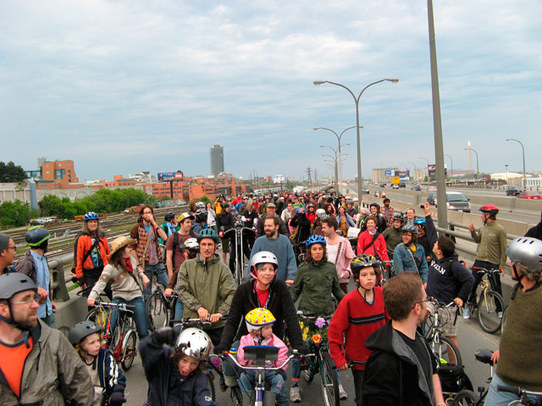 Critical Mass Protest