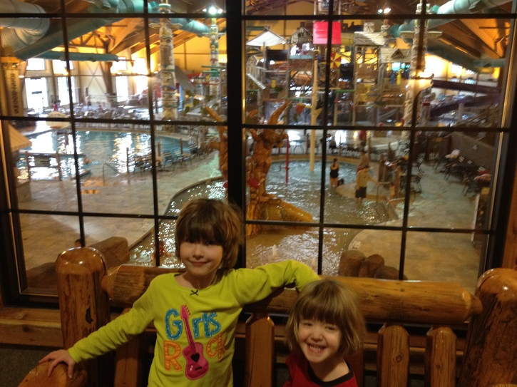 The Kids at Great Wolf Lodge