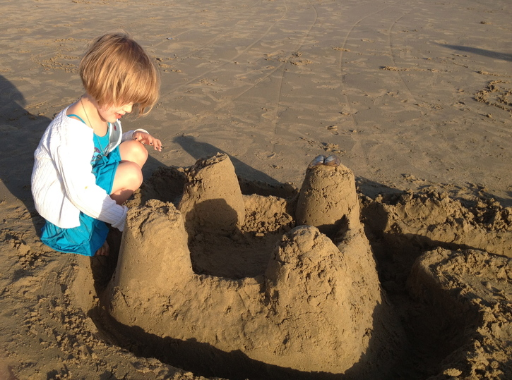 Pacific Sandcastle