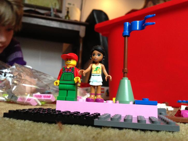 Lego Boy Meets Lego Girl