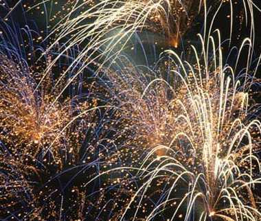 fireworks. Victoria Day Fireworks