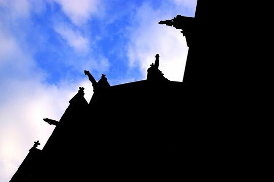 Gargoyles, by Adam Baker