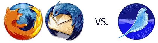 Firefox and Thunderbird versus Seamonkey