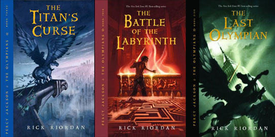 Percy Jackson's Last Three Books