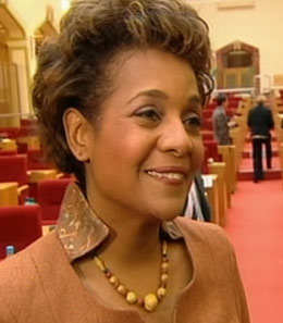 Michaelle Jean in Prague