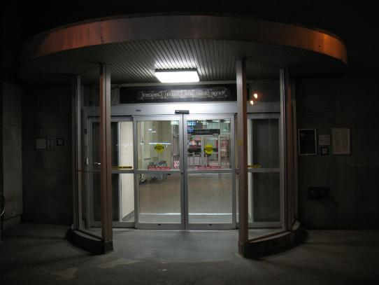 Davisville Entrance