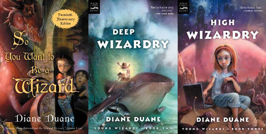 Young Wizards Series, Books 1 to 3