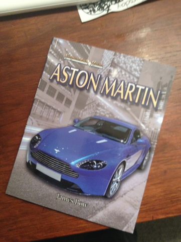 Aston Martin, by James Bow