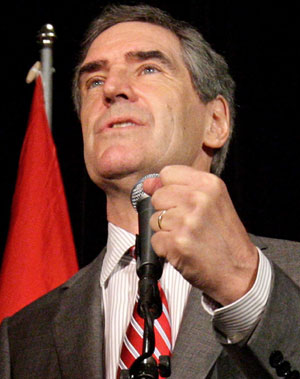 Michael Ignatieff in Election Mode